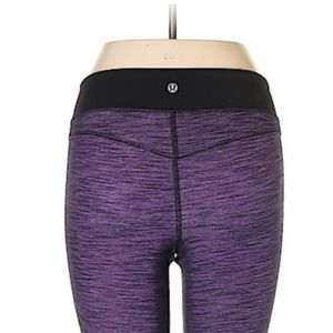 lululemon athletica Pants - Lululemon purple heathered leggings